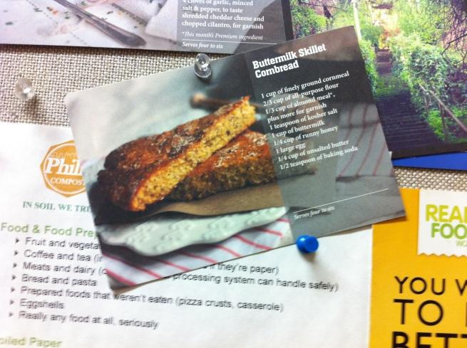 Turntable Kitchen's Buttermilk Skillet Cornbread