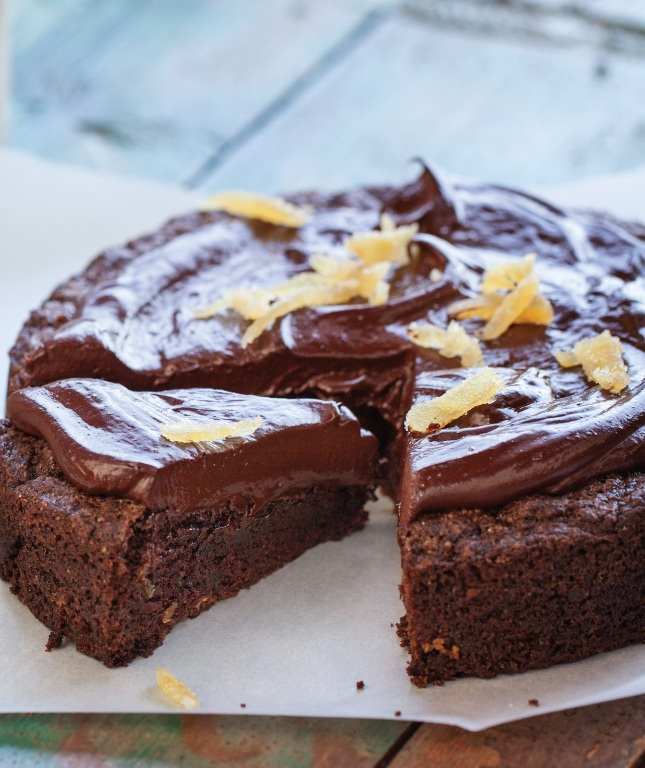 Cocoa Spice Cake--Credit Paige Green